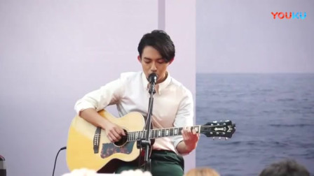 林宥嘉吉他弹唱歌曲《不知所谓》,好有磁性的嗓音