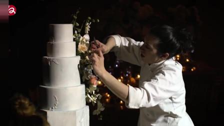需要提前一年预约的婚礼蛋糕设计师,烤的不是蛋糕,是爱情