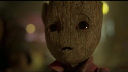 银河护卫队3:小树人格鲁特,好可爱啊,简直萌化了老夫的心啊