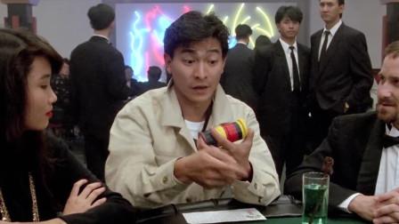 赌侠1:赌侠果然名不虚传,一根牙签就能赢了赌局,真是厉害啊!