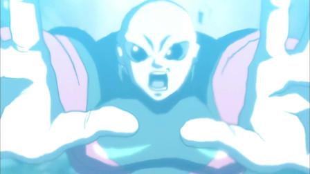 《龙珠》超蓝加二十倍界王拳的悟空使出全力!能否战胜吉连?