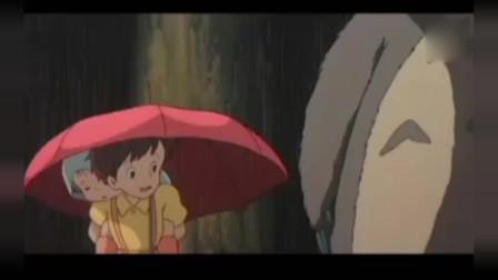宫崎骏治愈系动漫《龙猫》主题曲,还记得那只萌萌的龙猫多多洛吗!
