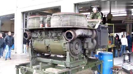 机械小问题,这是什么发动机,淘汰利用之后太霸气了