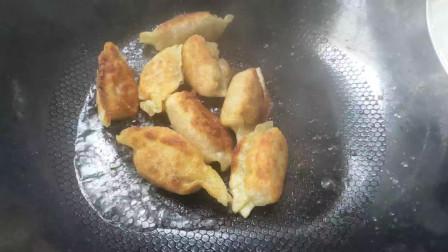 蜀小农美食记:猪肉煎饺