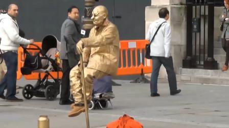 """泰国""""神人""""在滚烫油锅内打坐,被国人看破玄机,到底是怎么回事?"""