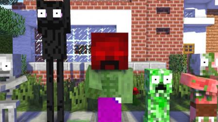 我的世界动画-怪物学院-凋灵骷髅挂了-MineCZ
