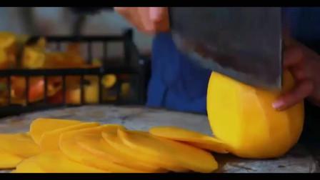 看李子柒切芒果简直是强迫症的福音,终于学会了雪花酥的做法!