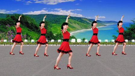 零基础8步广场舞《爱的路上千万里》简单好看,附教学