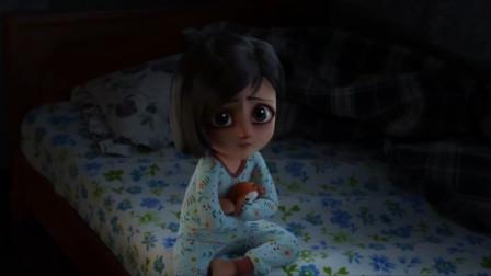 暗黑系动漫短片《恐怖故事》小女孩目睹父母家暴后,竟变成了怪物