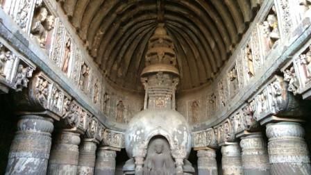 印度千年佛窟曾引唐僧前去朝圣 消失千年最近才被发现