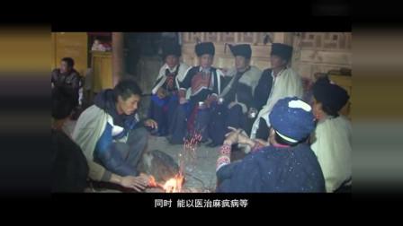 彝族文化 国家级毕摩绘画传承人  吉克伍沙