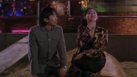 张柏芝:你看那天好黑呀,星爷:傻瓜,不怕有我呀!