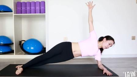 减少腰部赘肉的瑜伽体式!每天3组,让腰部更苗条