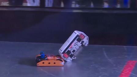 铁甲格斗打到武器损坏,机器人:旋转跳跃 我还能接着战