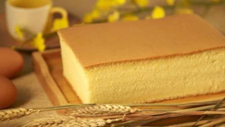 比戚风还好吃,不缩不塌的网红蛋糕,做法竟如此简单,超级柔软