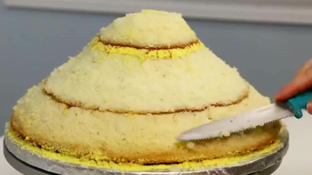 美食:这款芭比蛋糕,真美,舍不得吃掉