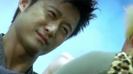 男儿本色:京哥出演的雇佣军气逼人,真害怕主角打不赢他