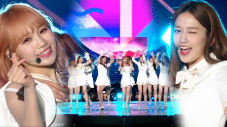 韩国明星秀 IZONE的裙摆融化了我的心《天空之上》