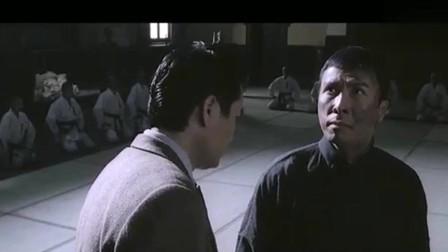 叶问:得知武痴林被打死,叶问一怒之下,要一个人打十个。