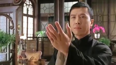 叶问:叶问出手不是因为对手厉害,而是为了保护家里的东西。