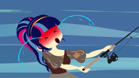 小马公主:夫妻两人的钓鱼技术都这么厉害的