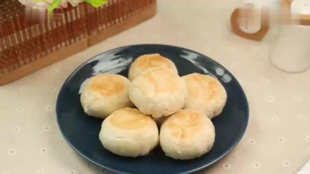 美食:苏式月饼做法全程详细讲解,皮薄馅多,酥的掉渣