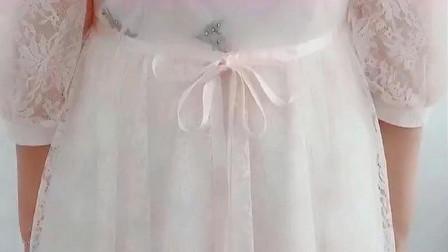 长裙腰带怎么系蝴蝶结,教你一步到位。
