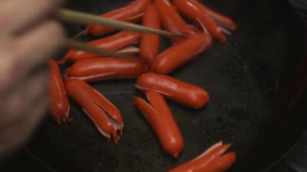 《深夜食堂》六角章鱼,这是深夜食堂的保留菜谱,非常好吃