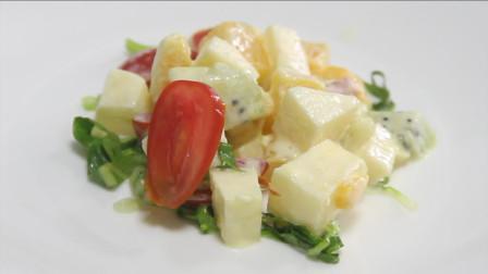 西餐水果沙拉怎么做才好吃?看完这个教程,在家也能轻松搞定!