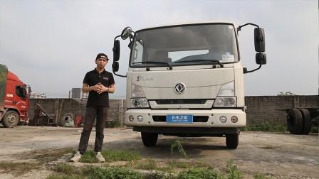 能装25方的轻卡!东风天锦4.2米车还有超宽驾驶室