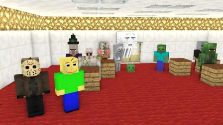 我的世界动画-怪物学院-达人秀-Theweakest Craft