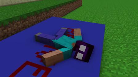 我的世界动画-怪物学院-比胆子-Quaker Crafting