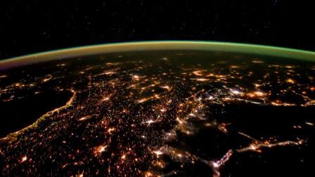 从太空中俯瞰地球,看看能不能找到你的家乡