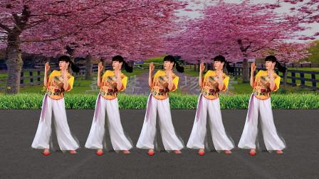 《桃花姑娘》听着甜甜的歌,跳支优美的舞,简单又快乐