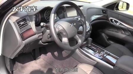 英菲尼迪Q70L,高配车型有16BOSE音响,标配电吸门