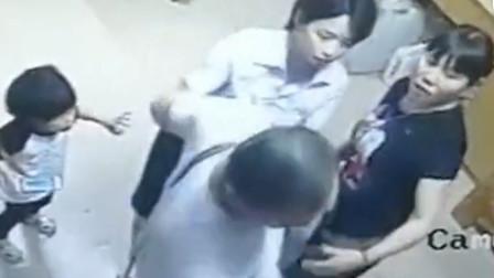 广东男子称应先来后到药店狠踩小孩伤脚