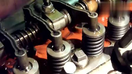 重新修理的60年代发动机,能启动不知道能不能用