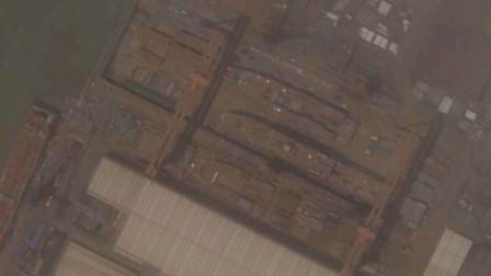 卫星图显示:075型两栖攻击舰进入总装状态,一艘能顶三艘055大驱