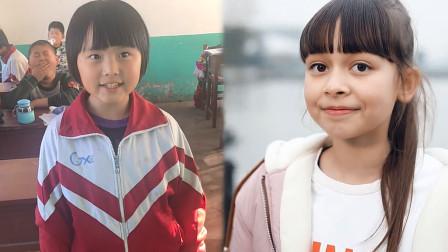 两个学生的较量,同框清唱《淋雨一直走》,中国女孩秒杀外国女孩