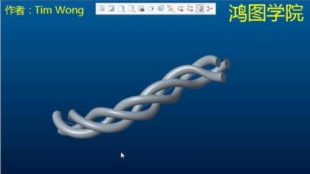 Creo电缆线设计(trajpar函数用法)