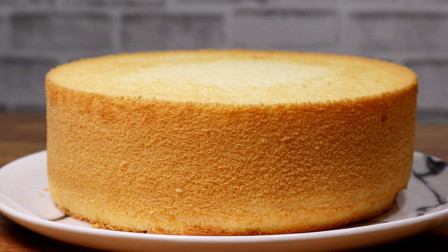 戚风蛋糕不塌陷、不湿软的做法,教你准确掌握烤箱温度