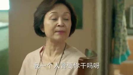 电视剧《小丈夫》:离婚了,老太太还是看不上老头,关掉电视说老头不关心离家出走的儿子