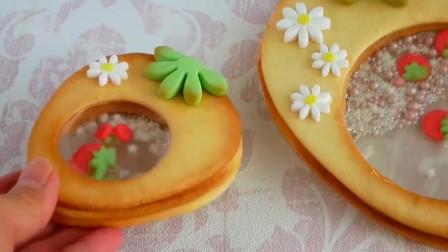 美食制作分享。教你做好吃又好玩的草莓饼干,小朋友都喜欢