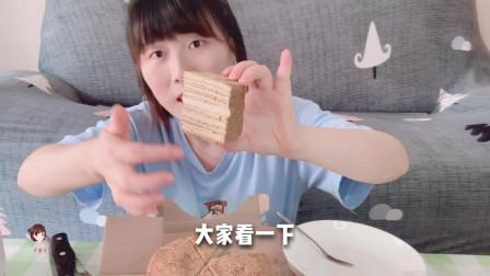 试吃价值29.9的原味提拉米苏,就想问下商家,为什么不送刀叉!