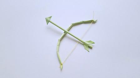 折纸王子大全 简单折纸 儿童手工折纸弓箭,简单好玩