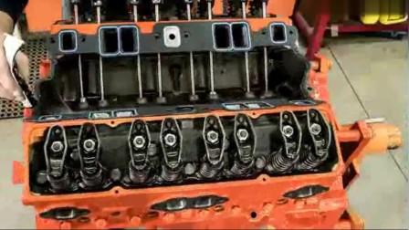 看高手如何玩转汽车发动机,从报废到焕然一新,看着就是爽