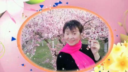 风中梅花广场舞《爱上一朵花》编舞 雨夜 演示,梅花