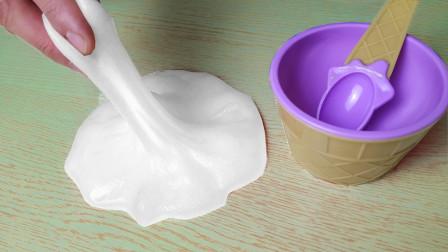 一款超简单的起泡胶做法:无硼砂成功率高,最后声音超炸耳哦