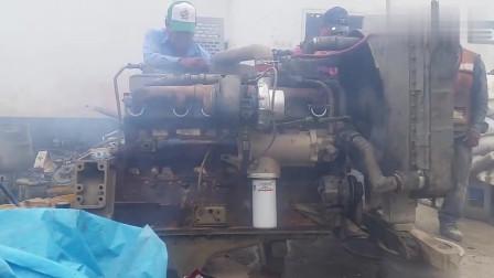 Cummins大凸轮350涡轮增压发动机淘汰利用