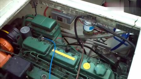 Volvo船用发动机油门全开测试